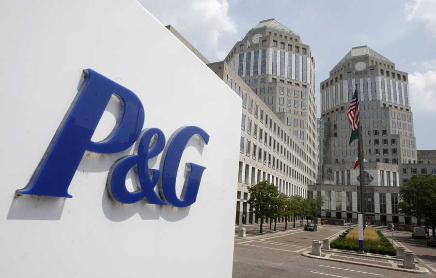 11.) Proctor and Gamble