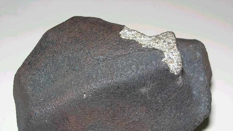 Marília Meteorite, a chondrite H4, which fell in Marília, São Paulo state, Brazil, on October 5, 1971, at 17:00