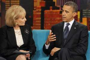 Walters has interviewed every U.S. president and first lady since Richard and Pat Nixon.