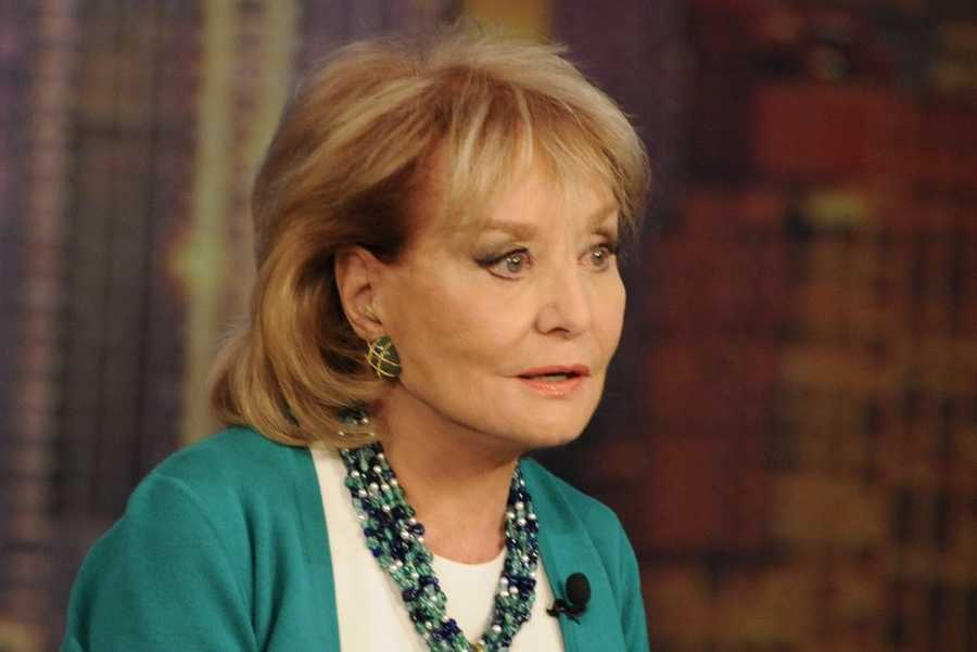"""Walters will step down from TV journalism Friday, taping her final episode of """"The View"""""""