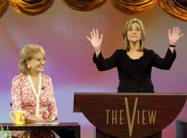 Meredith Vieira co-hosted the show for nine years, until 2006, when she moved to the Today Show on NBC.