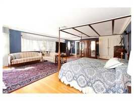 The rooms are large and spacious.