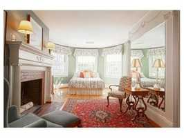 A formal bedroom.