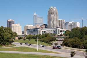 3.) Raleigh-Cary, NC