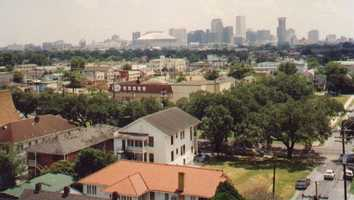 2.) New Orleans-Metairie-Kenner, LA