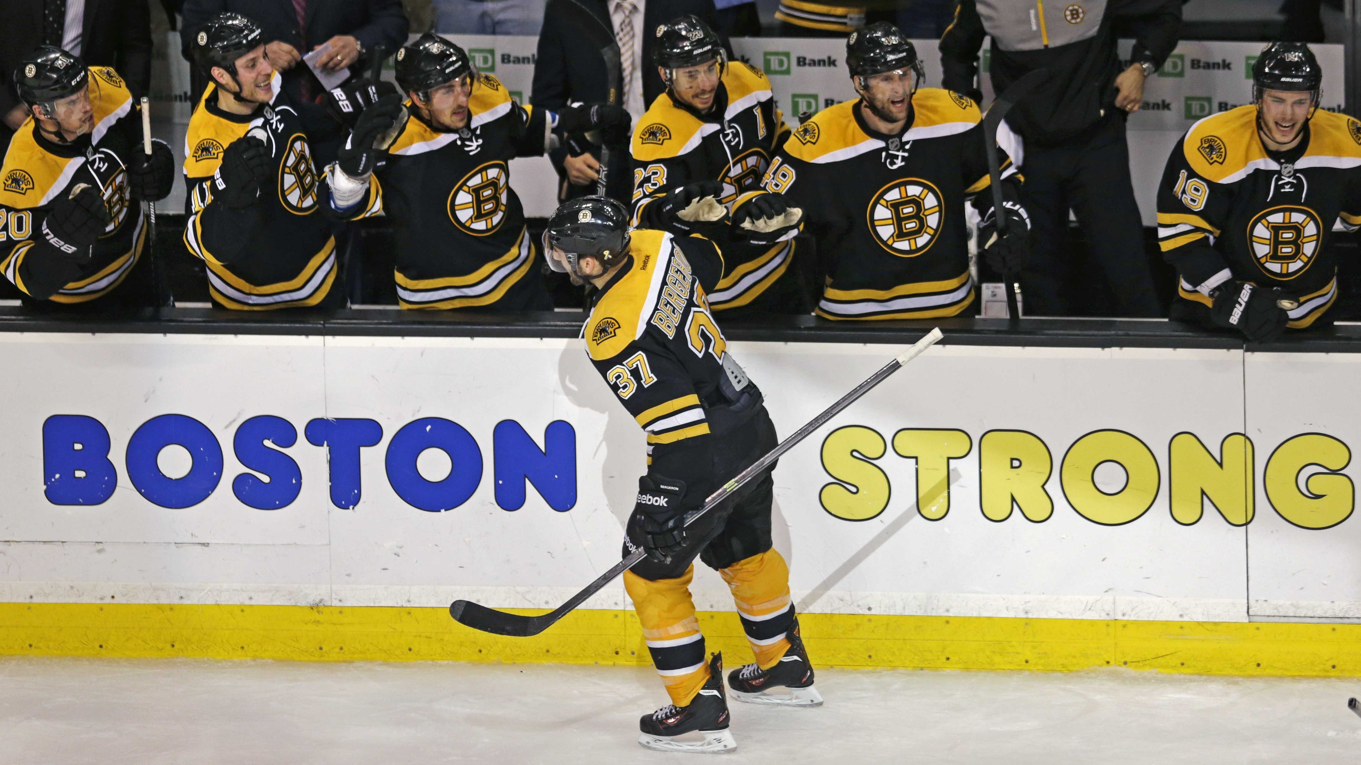 Bruins Boston Strong 051313 AP