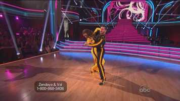 "While Tonioli appreciated the originality of the routine — calling it ""a quickstep for the next generation"" — he felt that it was so fast that Zendaya lost her footing a few times."
