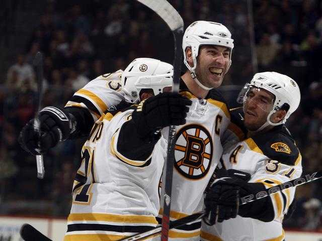 Beacause of the 2004–05 NHL lockout, Bergeron played for Boston's minor league affiliate, the Providence Bruins of the American Hockey League.