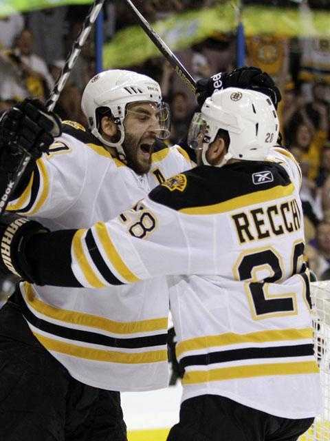 On the Stanley Cup, Bergeron is listed by his birth name, Patrice Bergeron-Cleary.