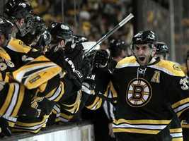 Bergeron won the Selke Trophy as the NHL's top defensive forward for the entire 2011-12 NHL season.