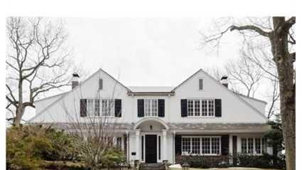 19 Estabrook Rd. is on the market in Newton for $2.35 million.
