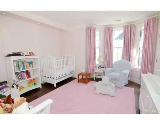 There are five bedrooms