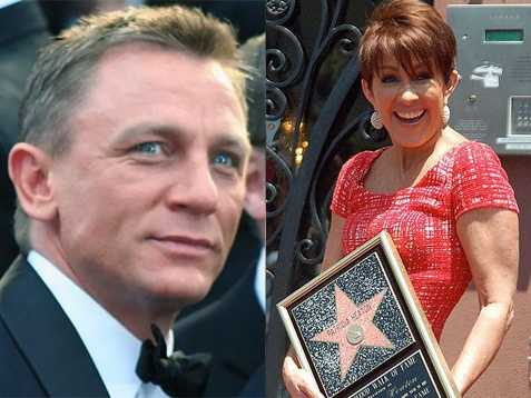 We start with the 10th most popular New Hampshire names in 1962: Daniel and Patricia(Pictured: Actor Daniel Craig, and actress Patricia Heaton)