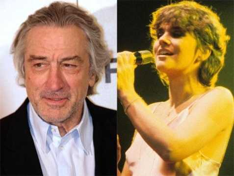 5) Robert and Linda(Pictured: Actor Robert De Niro, and musician Linda Ronstadt)