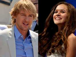Now let's look at New Hampshire's most popular baby names based on the most recent data for 2012.10) Owen and Madison(Pictured: Actor Owen Wilson, and actress Madison Pettis)