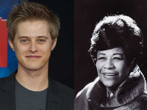 9) Lucas and Ella(Pictured: Actor Lucas Grabeel, and musician Ella Fitzgerald)