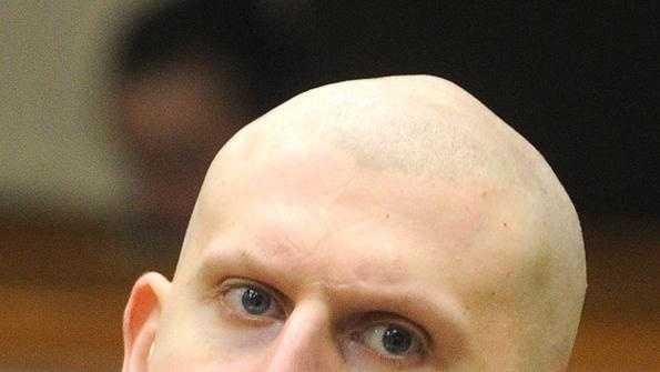 Keith Luke Shaved Head 051713