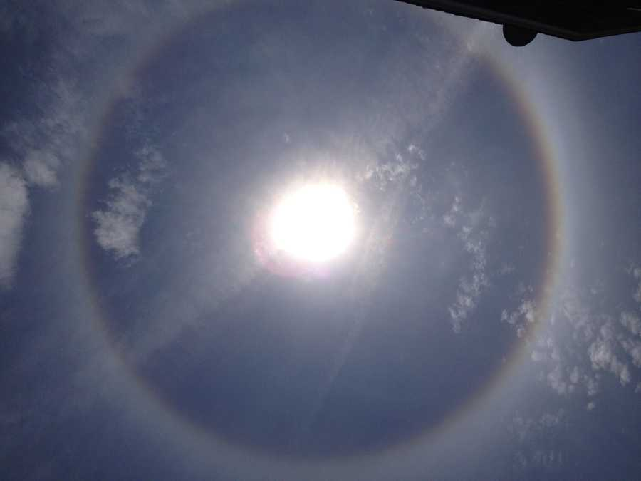 Share your Sun Halo shots by emailing ulocal@wcvb.com.