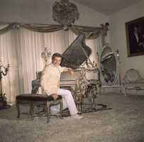 He was born as Wladziu Valentino Liberace on May 16, 1919, into a musical family