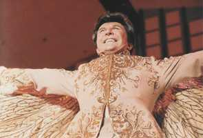 """Liberace, the flashy showman who came to fame in the 1950s is back in the spotlight. HBO will unveil a biopic called """"Behind the Candelabra,"""" which looks at the life of the flashy star."""