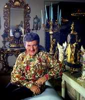 In addition to his piano, Liberace filled the stage with disco roller skaters, folk dancers and luxury cars. Concerts were an extravaganza of Las Vegas glitz.