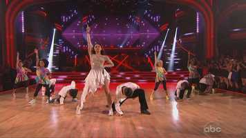 """Inaba added: """"Way to take us home! I mean, this is a fantastic night of incredible dancing and you brought it home. You sealed the deal."""" Zendaya earned another perfect score of 30 points."""