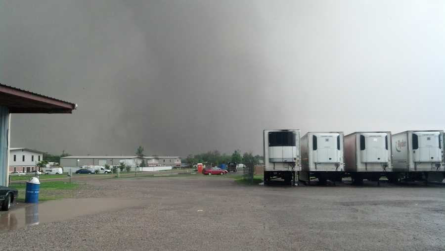 May 20th tornado building near Moore, OK.
