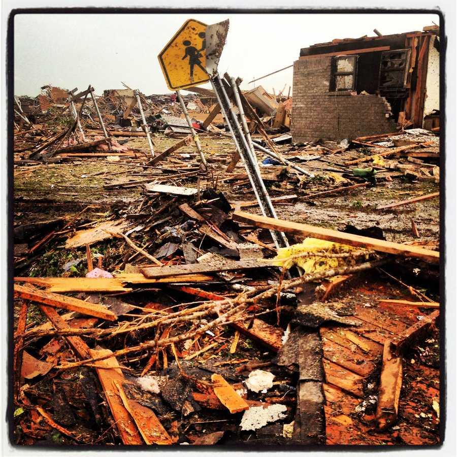 Complete destruction.
