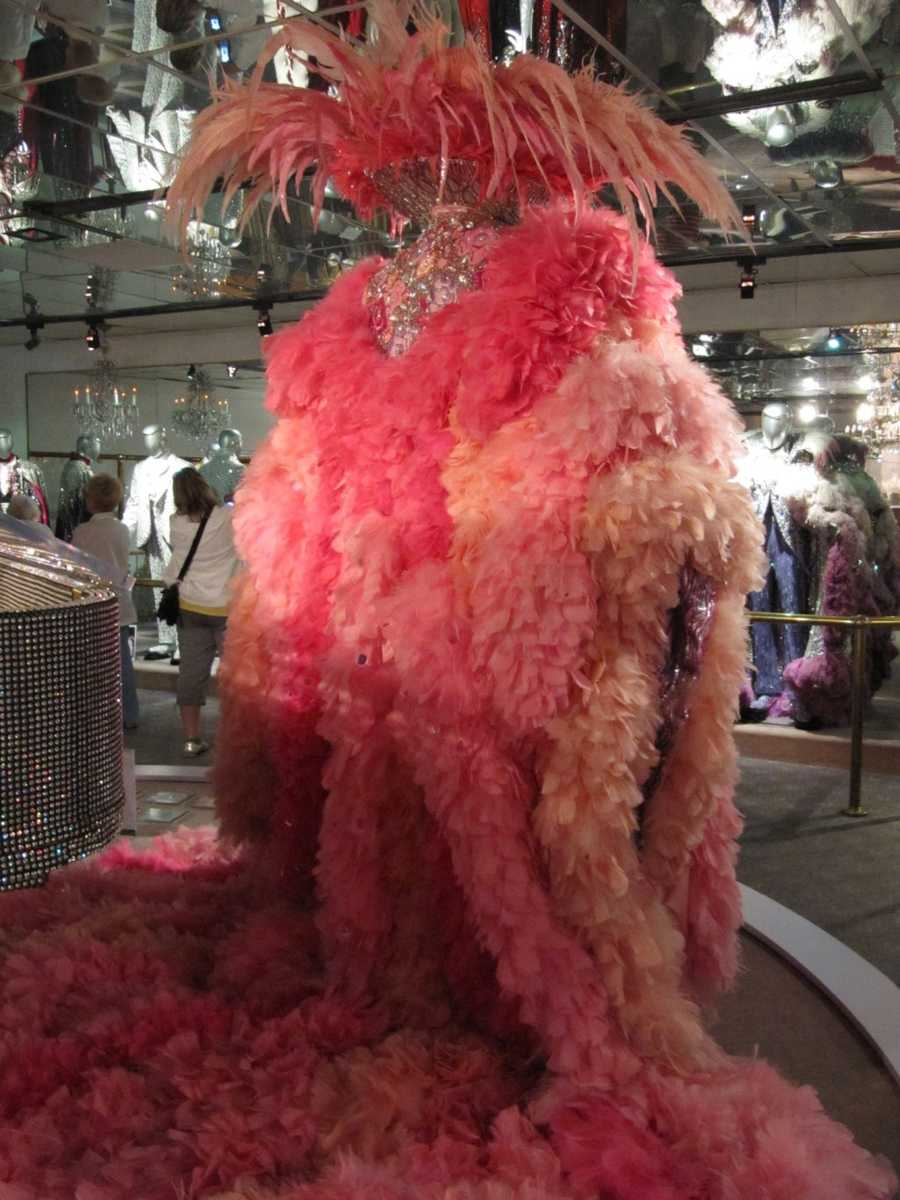 In the 1970s Liberace spent at least $100,000 a year on his sparkling, brocaded, diamond and jeweled costumes.