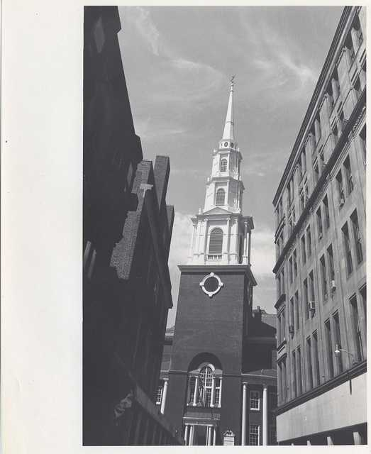 Undated: Old North Church in the North End