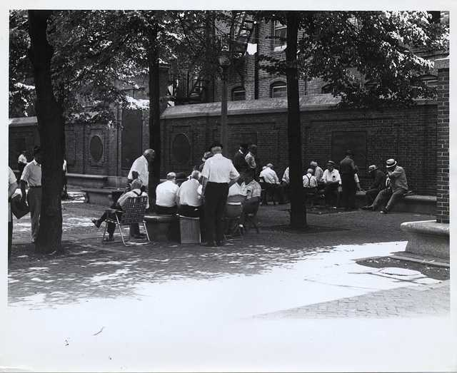 Undated: Paul Revere Mall, North End