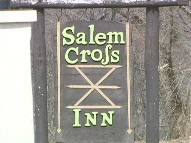Brookfield's Salem Cross Inn is on West Main Street.