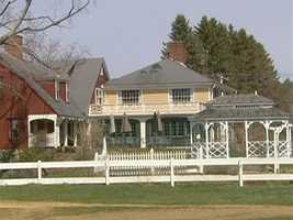 The Inn is located on a 600 acre farm.