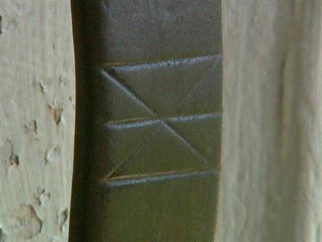 The Inn was named for the hex mark found etched on the front door latch.
