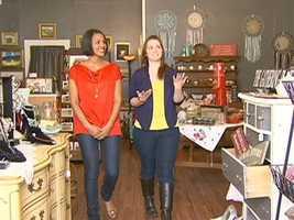 Shayna lelarned that owner Lauren Kostantin is a picker, always on the hunt for new stuff.