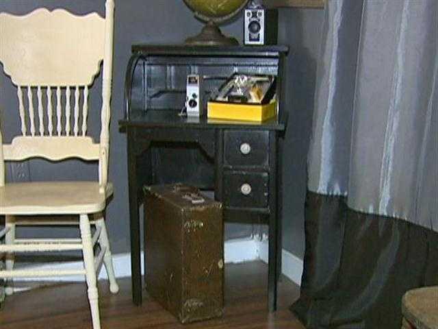 Troubadour offers half vintage and half antique pieces.