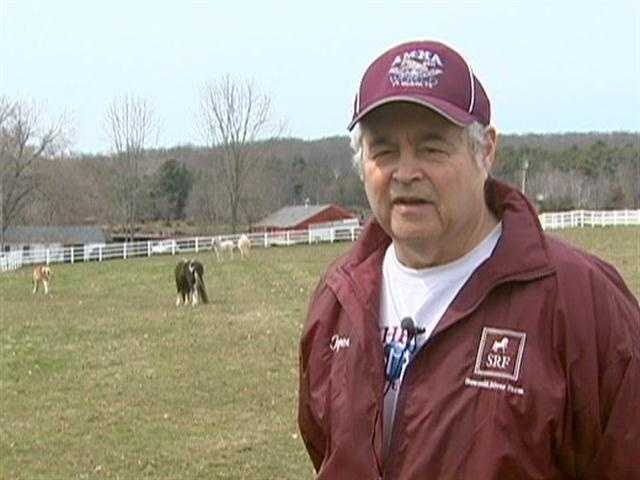 Roger Slobody's passion for miniature horses began in 1981.