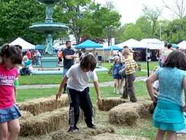 West Brookfield hosts an annual Asparagus and Flower Heritage Festival.