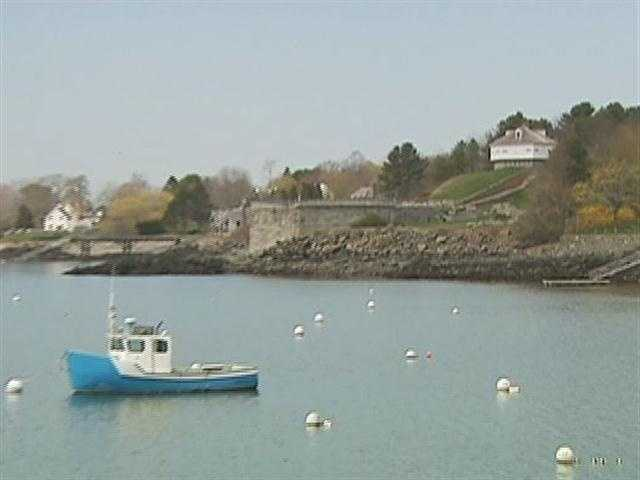 Just across the Piscataqua River from New Hampshire is Fort McClary.