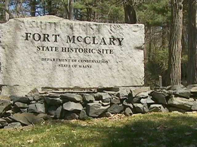Fort McClary, on Kittery Point, served five wars -- from the American Revolution through World War One.