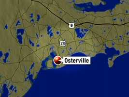 Osterville is a 90 minute drive from Boston.