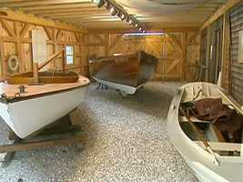 The Museum shows generations of different boats.