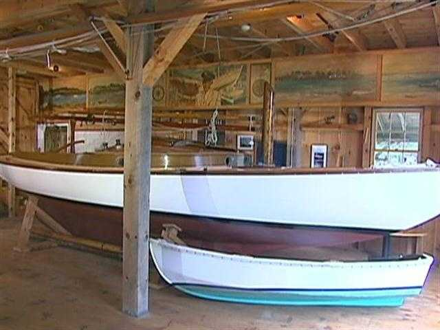 Another famous Crosby boat is the Wianno Senior.