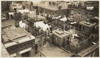 1935: Cleveland Place block - North End