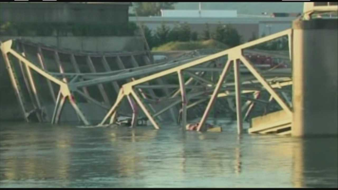 A bridge collapse in Washington is putting the highlight on deficient bridges in New England.