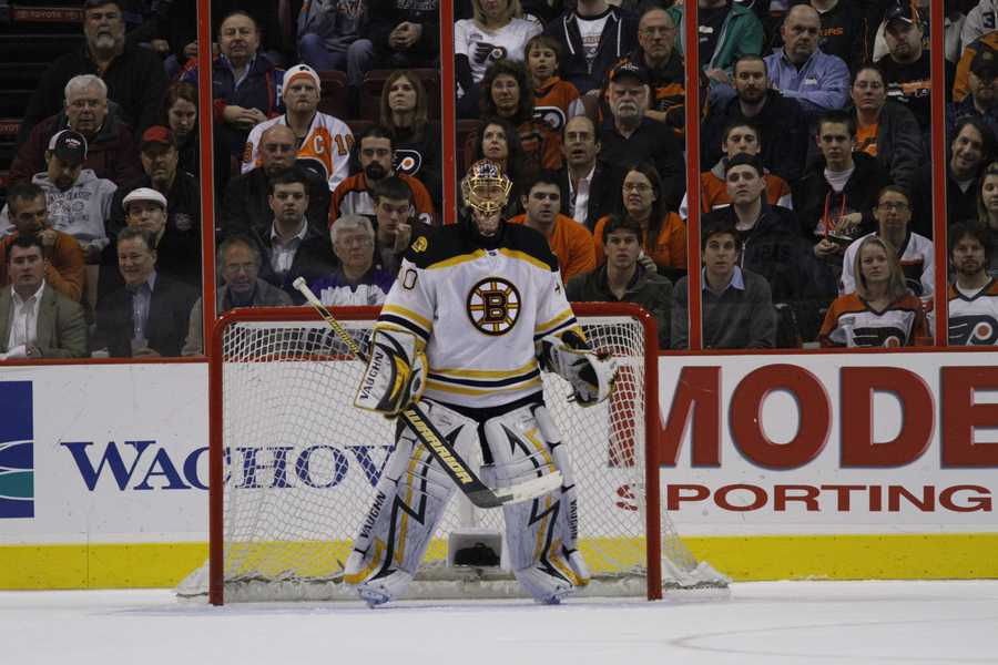Rask had an overtime assist on April 21, 2010 against Buffalo -- becoming the 2nd goaltender in history with an OT playoff assist.