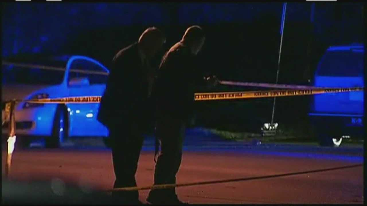 A scary situation in Peabody after a mother and her children were shot at.