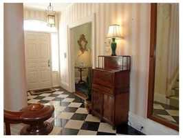 An elegant entryway.
