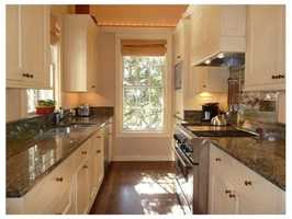 An updated kitchen.