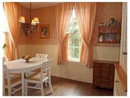 A cozy dining area.